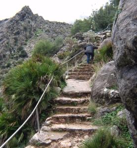 10 La Pileta Cave steps