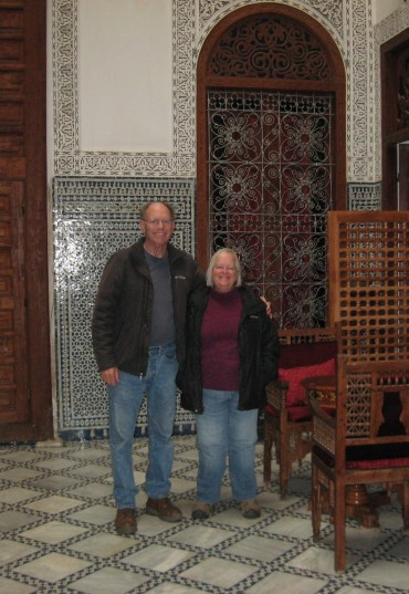 Ready for the day in the Fes Medina