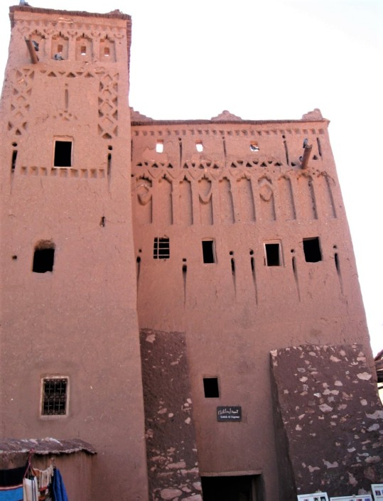23 Ait Ben Haddou tower