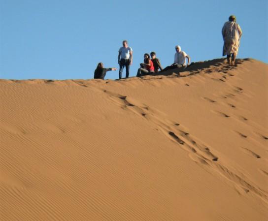 48 Desert Camp Sandboarding