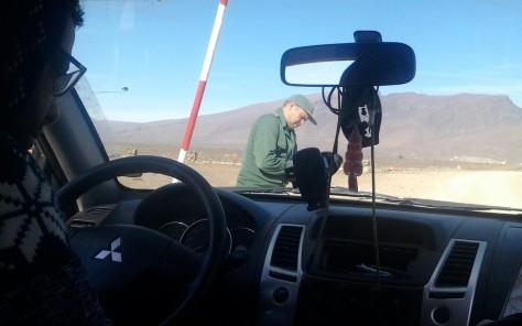 54 Desert Checkpoint